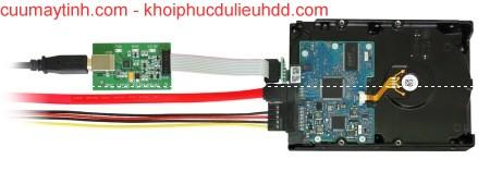 Làm thế nào để kết nối các bộ chuyển đổi PC-USB-TERMINAL