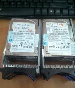 Cứu dữ liệu máy chủ IBM X3650 , RAID 5