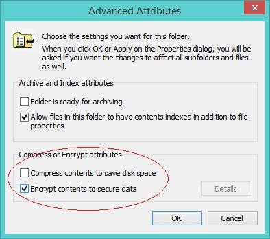 Chức năng mã hóa dữ liệu trên Windows mà Cryptolocker sử dụng