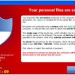 Cryptolocker đòi tiền chuộc dữ liệu