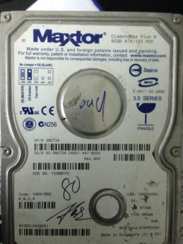 Maxtor80