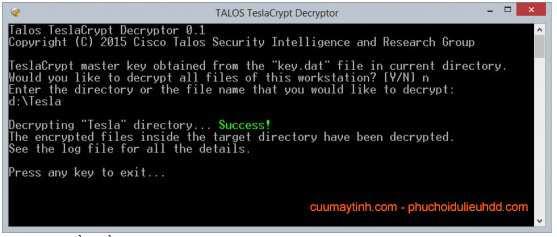 Talos_teslaCrypt_Decryptor