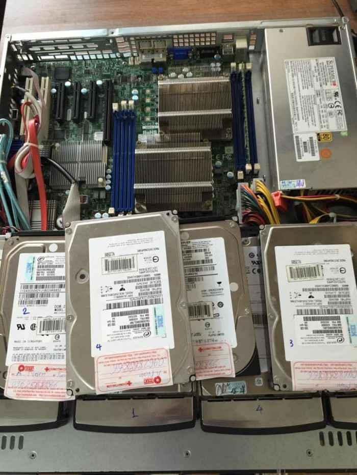 server RAID10 recovery data