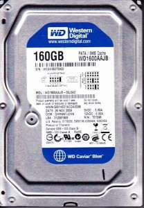 cuu du lieu o cung bi xoa 160GB (WD1600AAJB)
