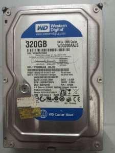 Cứu dữ liệu máy tính 320GB WD(WMAV2FA45227)