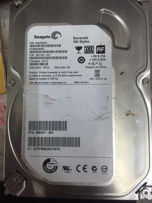 Khôi phục dữ liệu ổ cứng WD (WCC2F0359064)