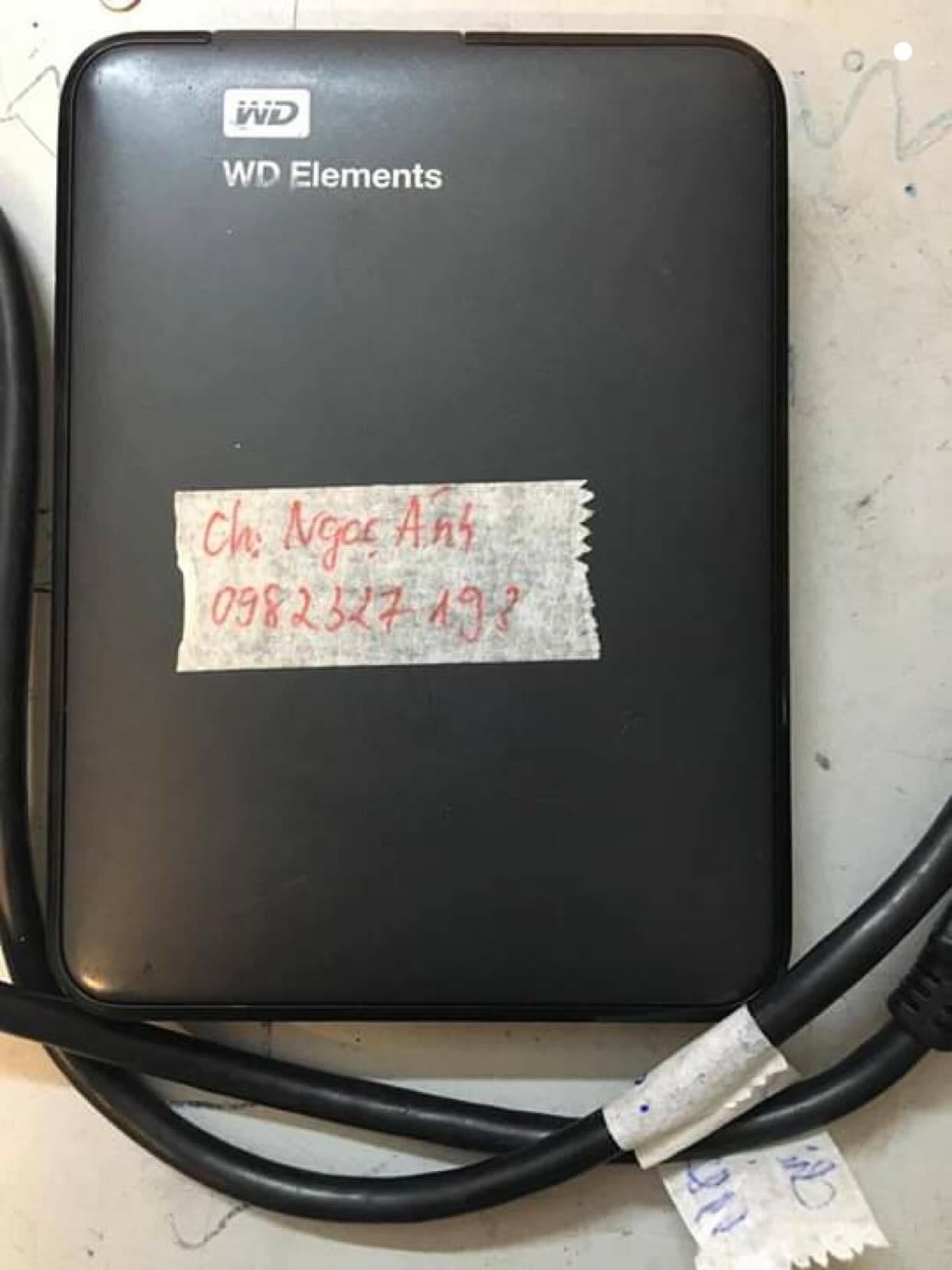 Cứu dữ liệu ổ cứng Western 1TB không nhận 19/01/2019 - cuumaytinh