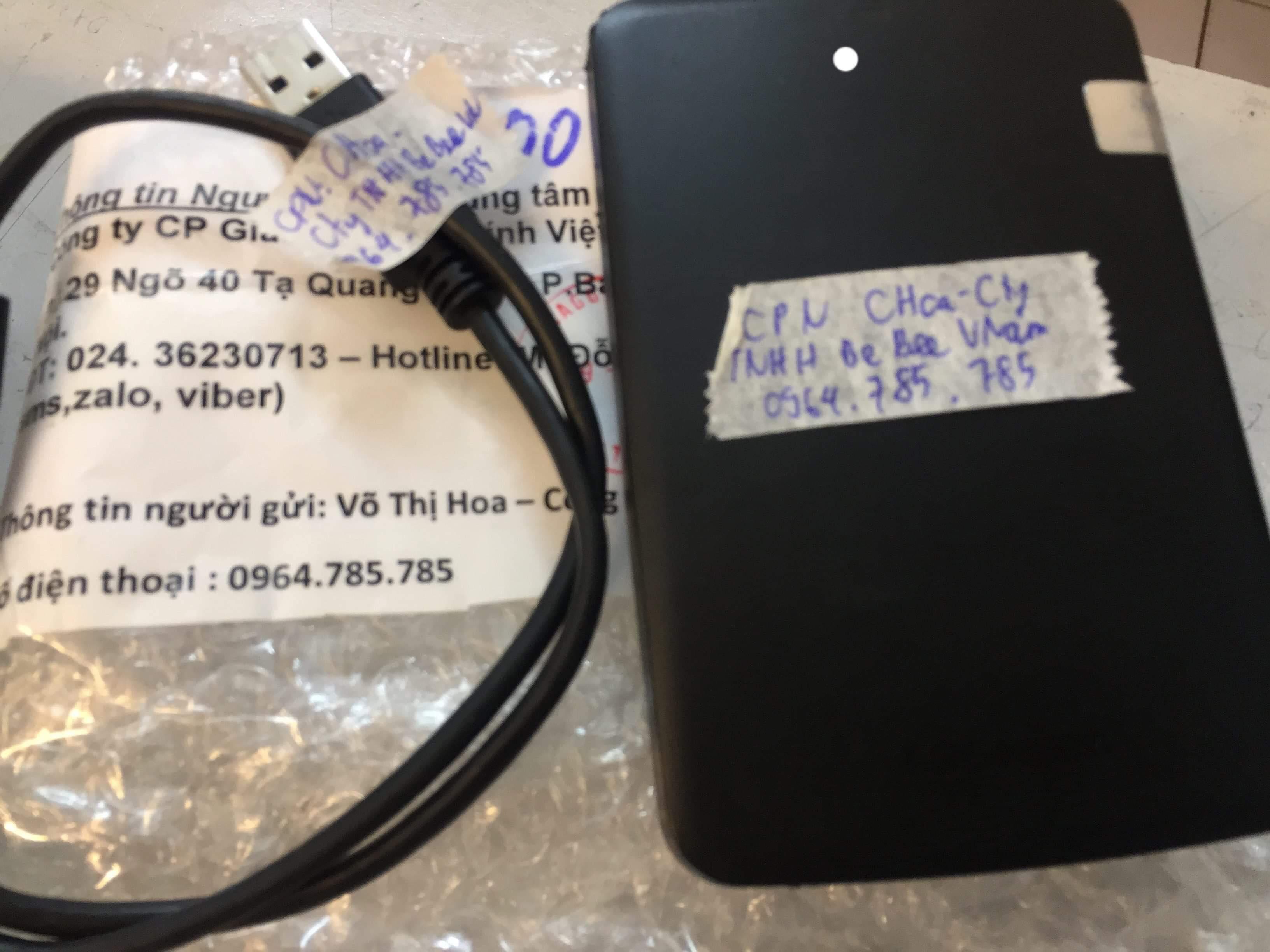 Lấy dữ liệu ổ cứng Toshiba 1TB lỗi cơ 01/03/2019 - cuumaytinh