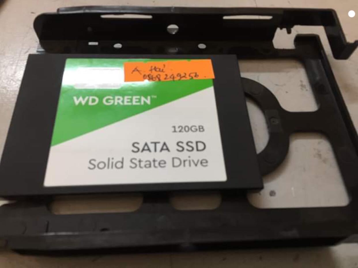 Cứu dữ liệu ổ cứng SSD Western 120GB bad 06/03/2019 - cuumaytinh
