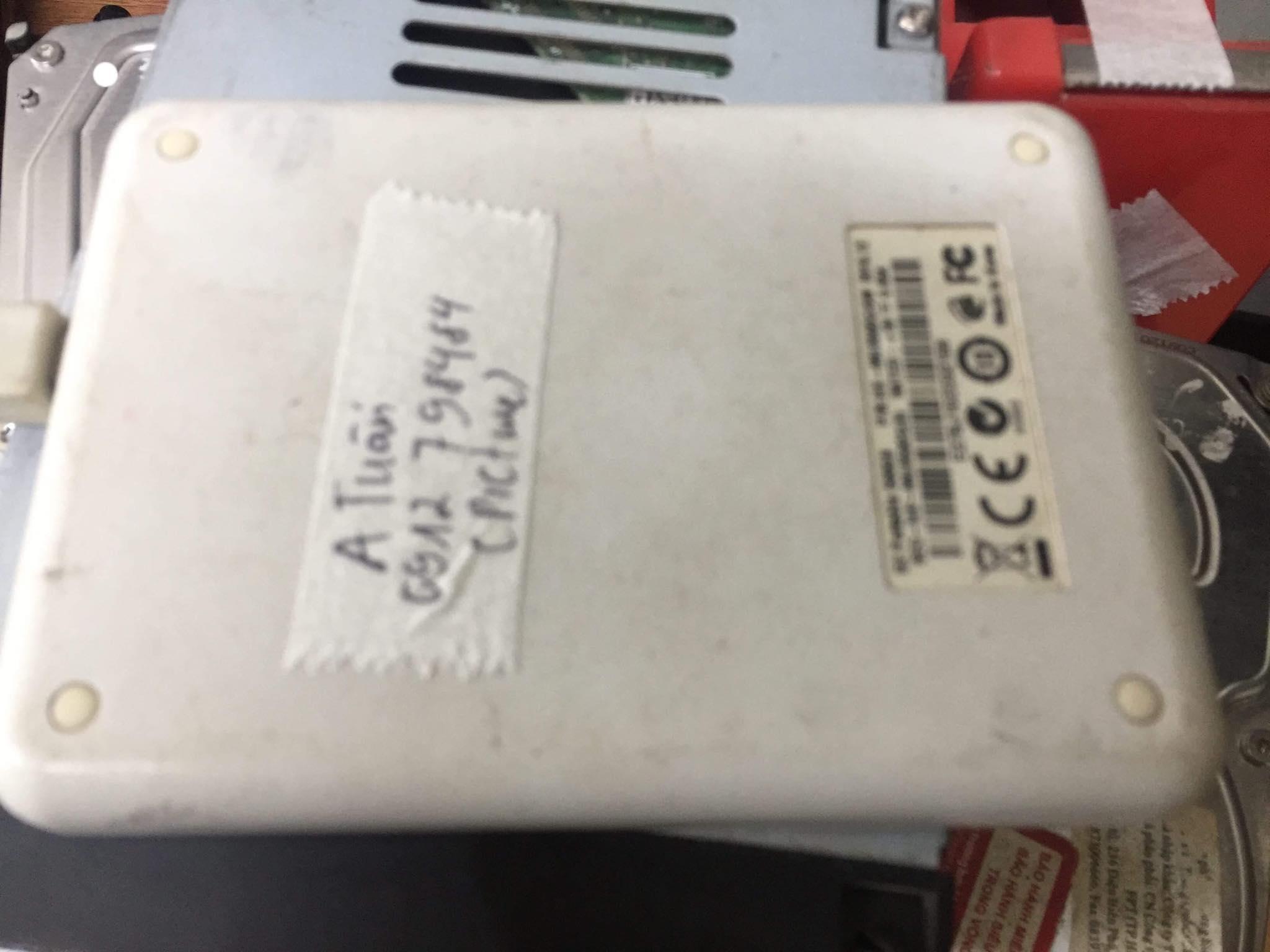 Lấy dữ liệu ổ cứng Toshiba 1TB format nhầm 16/04/2019 - cuumaytinh