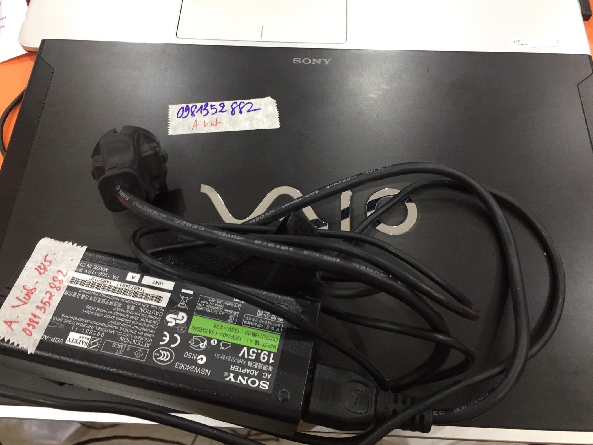 Khôi phục dữ liệu ổ cứng Laptop Vaio không nhận 20/05/2019 - cuumaytinh