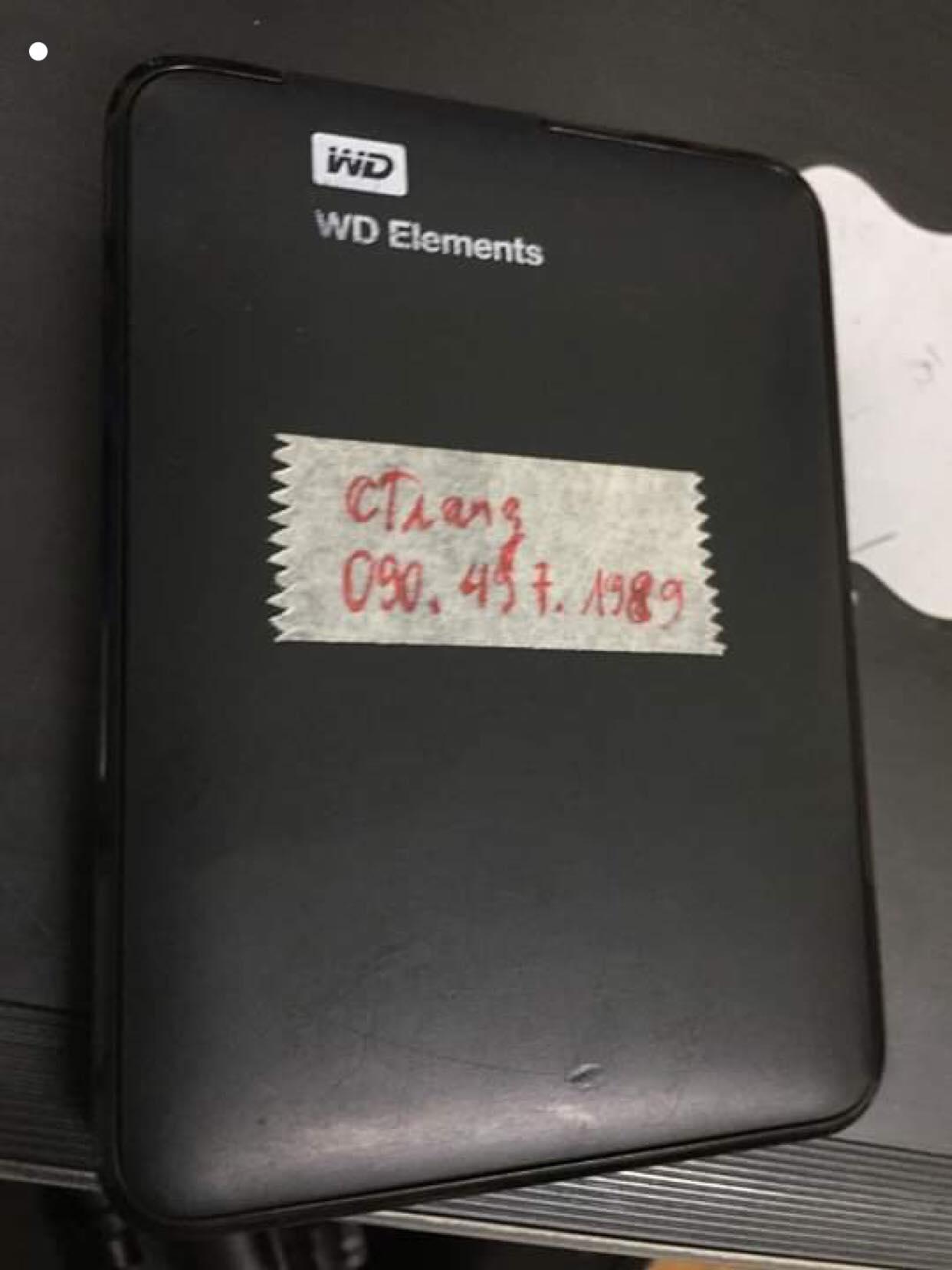 Lấy dữ liệu ổ cứng Western 1TB không nhận 26/04/2019 - cuumaytinh