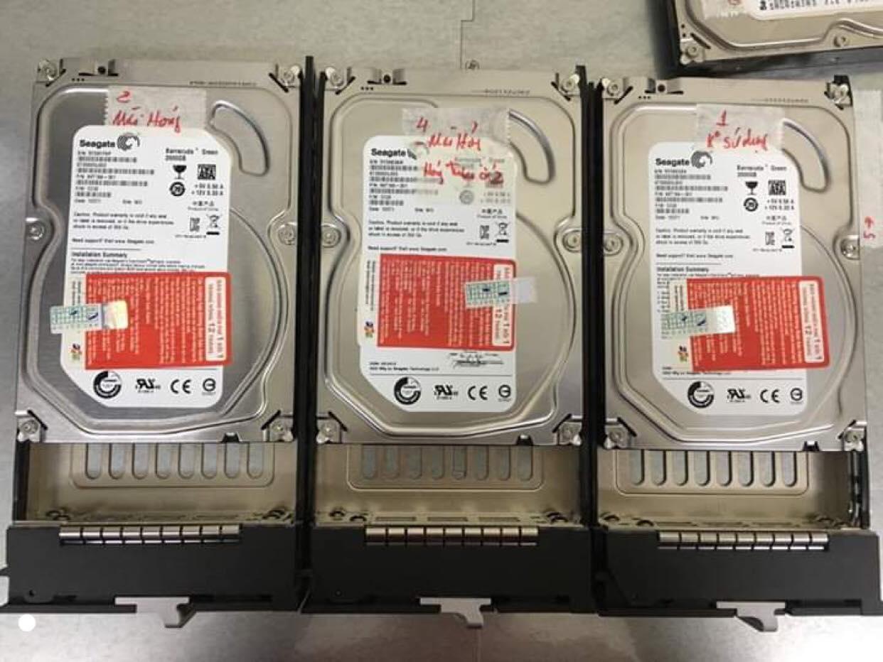 Hệ thống SAN lỗi 3HDD - cuumaytinh
