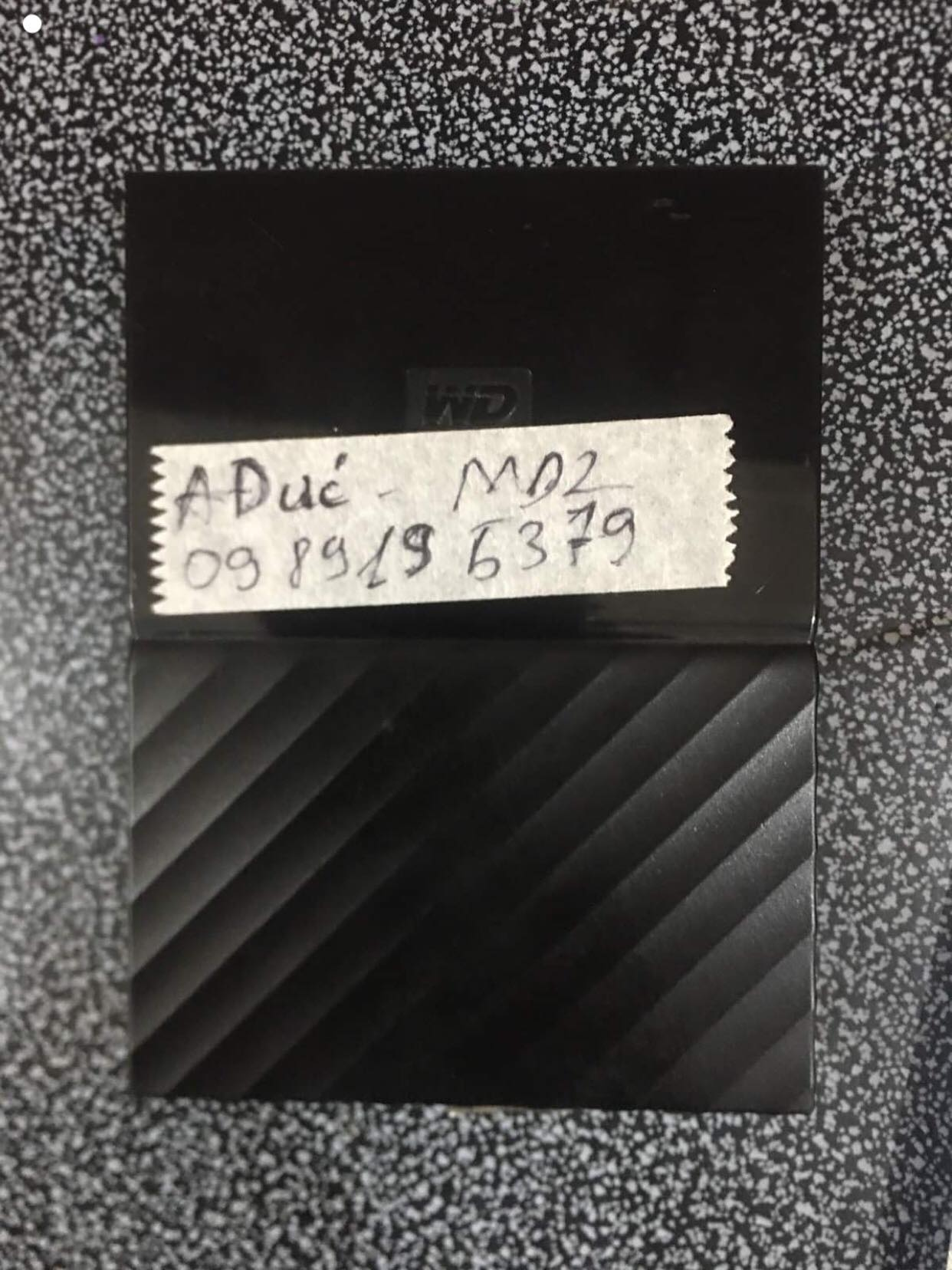 Cứu dữ liệu ổ cứng Western 1TB mất dữ liệu 04/07/2019 - cuumaytinh