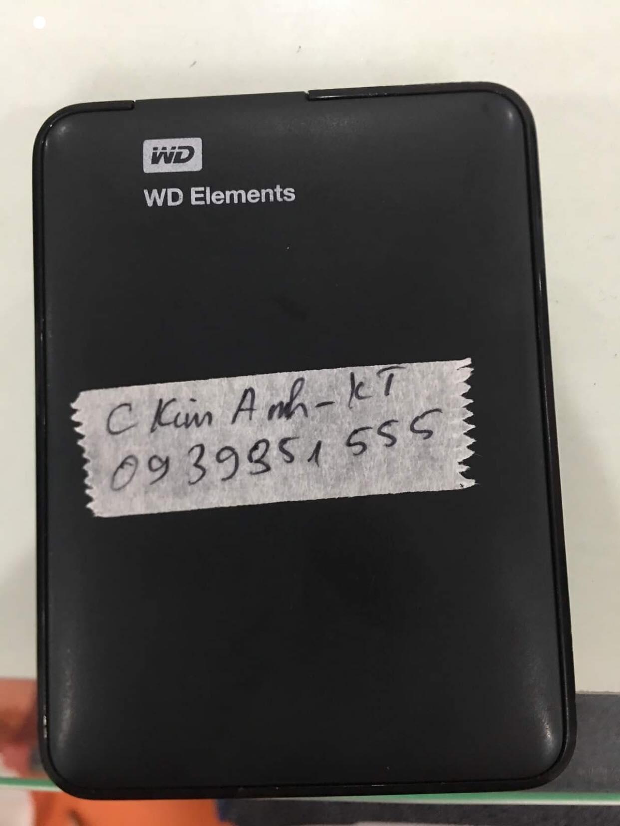 Khôi phục dữ liệu ổ cứng Western 1TB lỗi đầu đọc 09/07/2019 - cuumaytinh