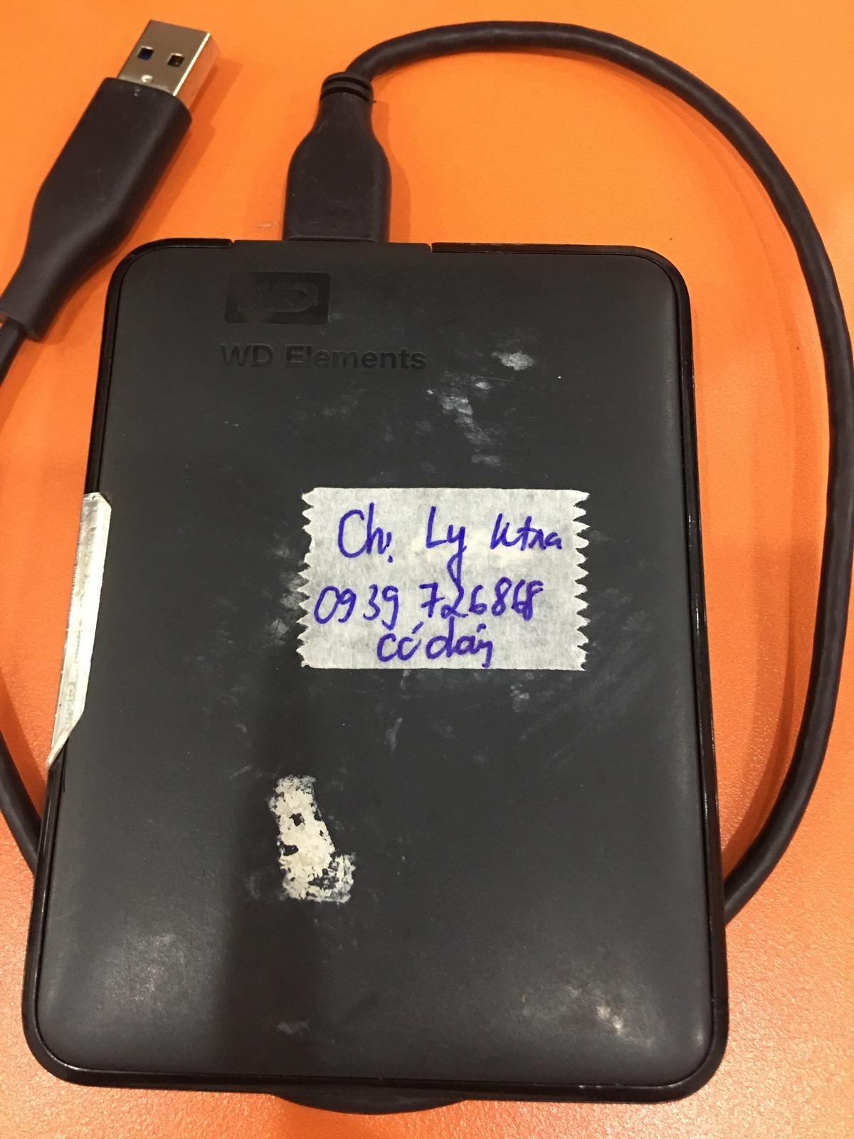 Khôi phục dữ liệu ổ cứng Western 1TB bad 16/08/2019 - cuumaytinh