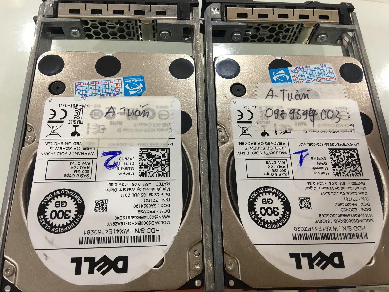 Cứu dữ liệu máy chủ Dell với 2HDDx300GB mất cấu hình RAID 05/09/2019 - cuumaytinh