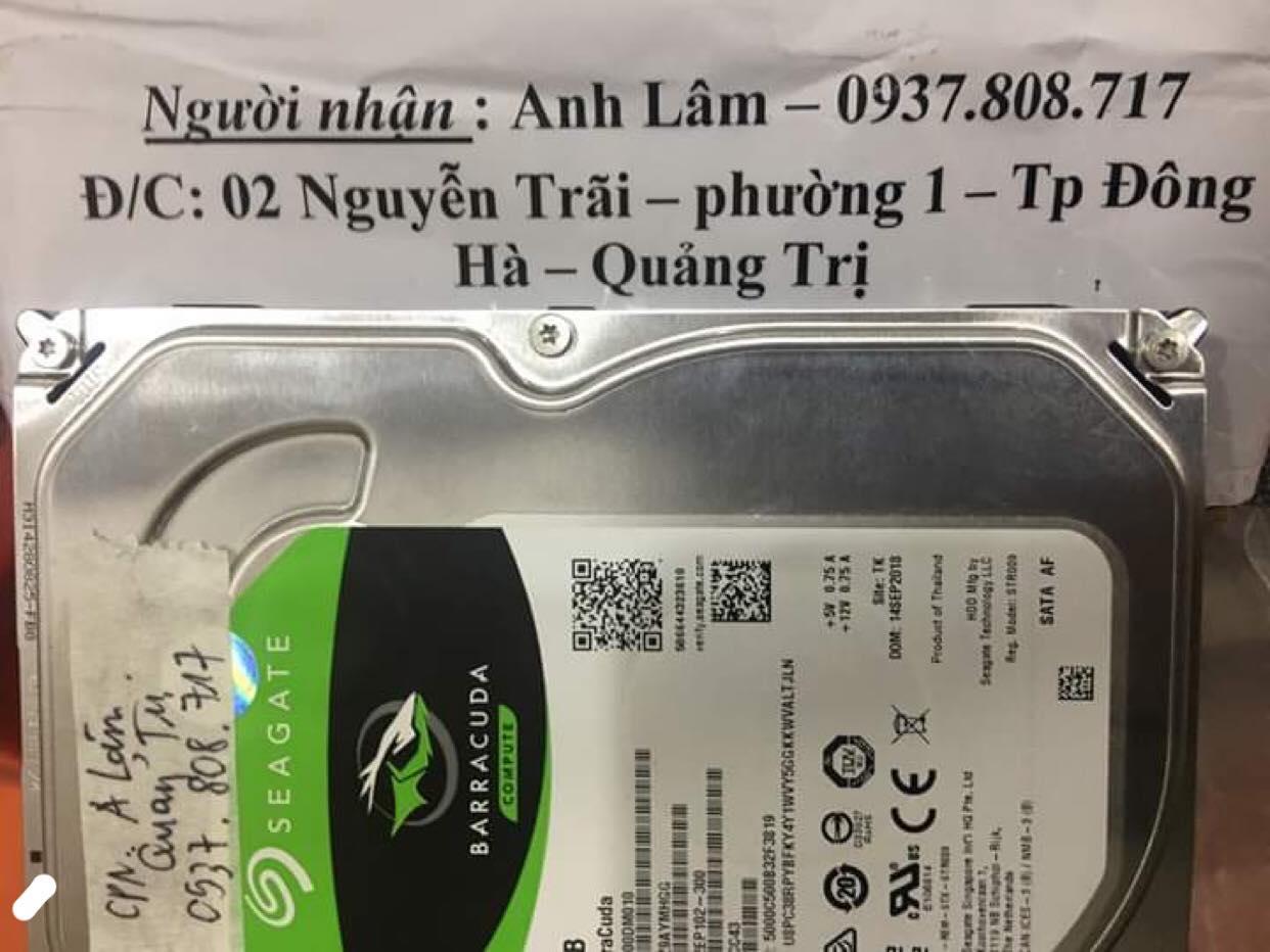 Khôi phục dữ liệu ổ cứng Seagate 1TB đầu đọc kém tại Quảng Trị 17/01/2020 - cuumaytinh