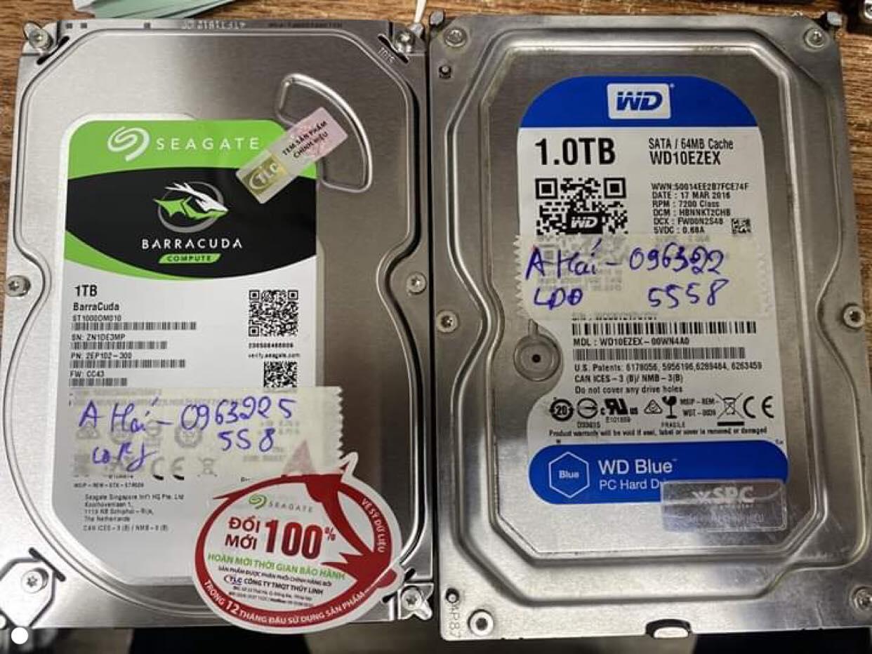 Khôi phục dữ liệu ổ cứng Western 1TB lỗi đầu đọc 14/02/2020 - cuumaytinh