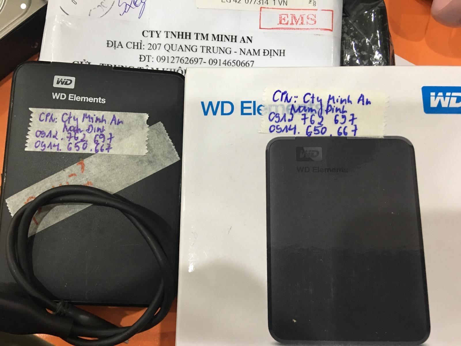 Phục hồi dữ liệu ổ cứng Western 1TB lỗi cơ 19/03/2020 - cuumaytinh