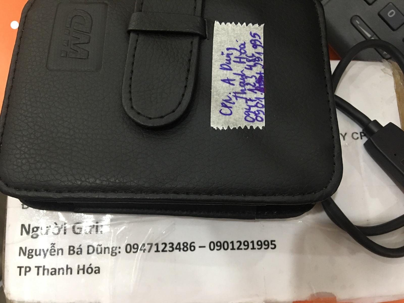 Cứu dữ liệu ổ cứng Western 1TB lỗi cơ tại Thanh Hóa 05/05/2020 - cuumaytinh
