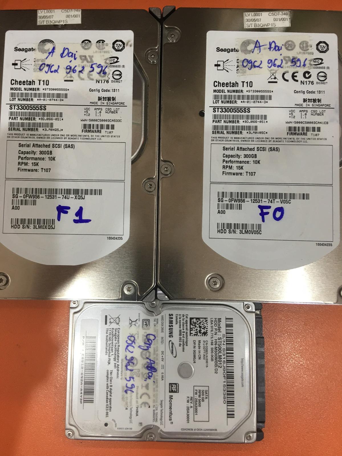 Phục hồi dữ liệu máy chủ sử dụng 2HDDx300GB mất cấu hình raid 25/04/2020 - cuumaytinh