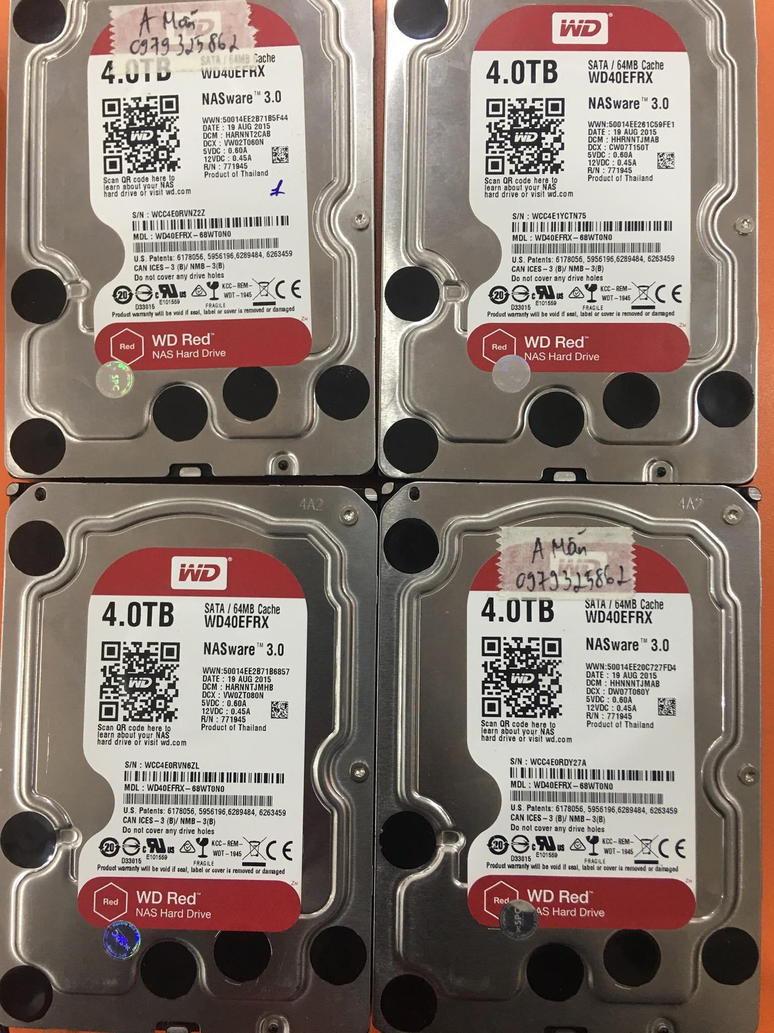 Cứu dữ liệu máy chủ NAS với 4HDDx4TB lỗi 2HDD 15/03/2020 - cuumaytinh