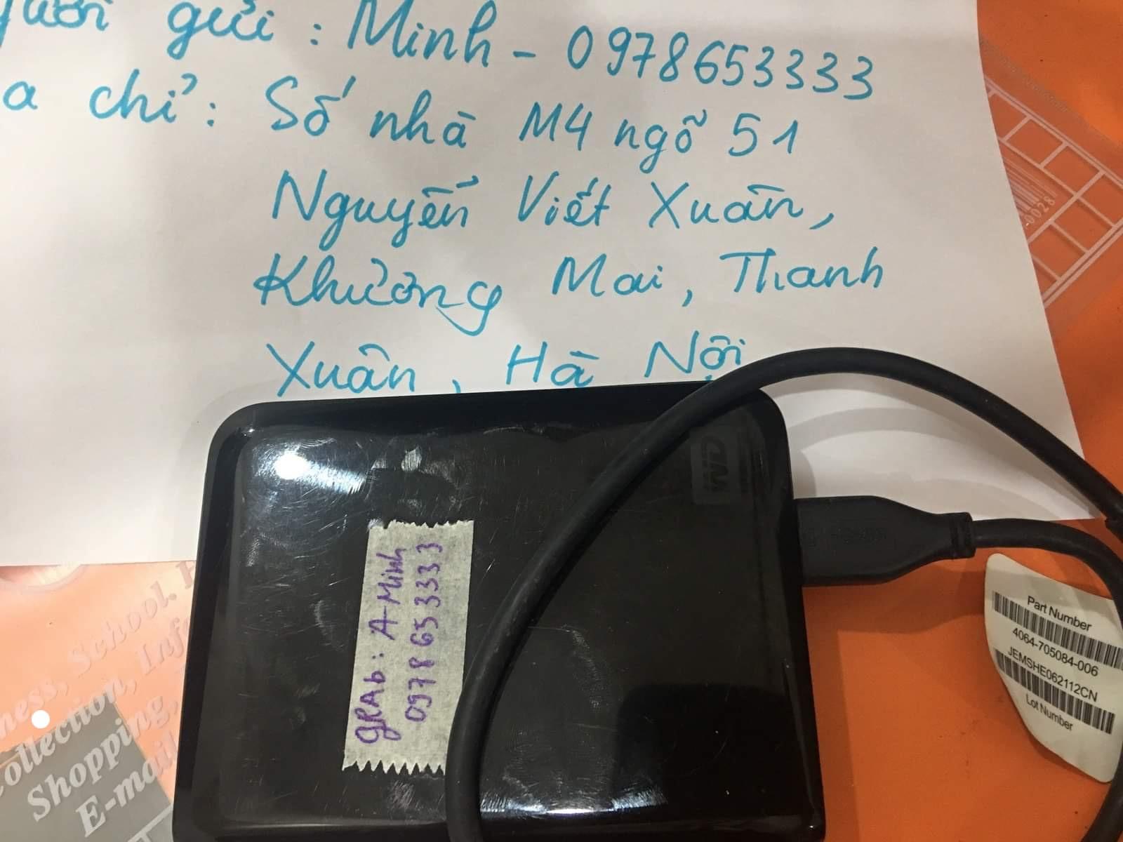 Khôi phục dữ liệu ổ cứng Western 500GB đầu đọc kém 20/06/2020 - cuumaytinh