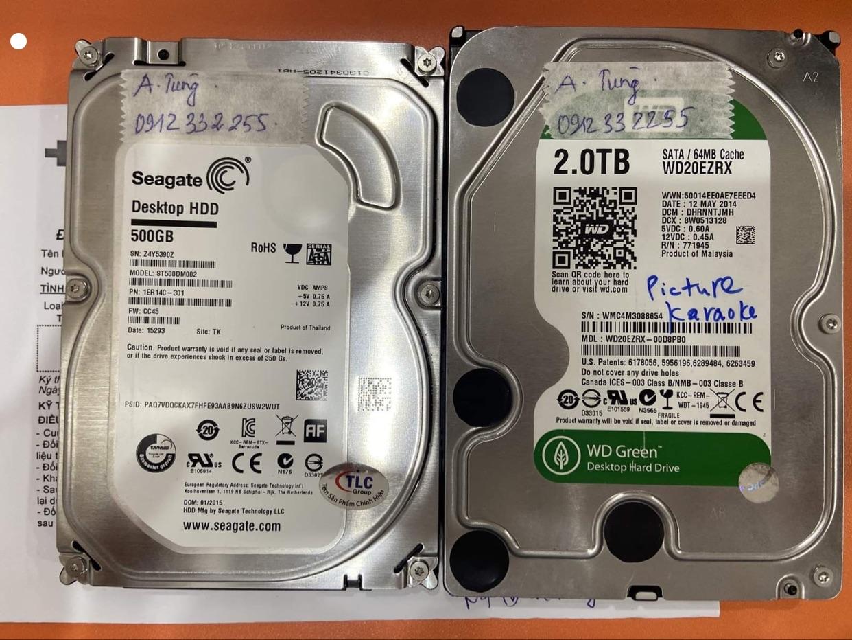 Cứu dữ liệu ổ cứng Western 2TB format nhầm 03/10/2020 - cuumaytinh