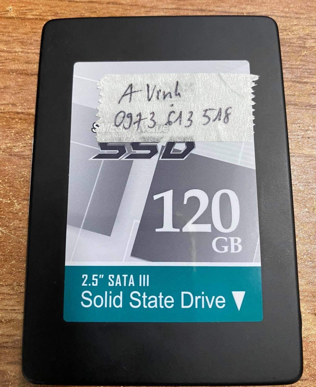 Khôi phục dữ liệu ổ cứng SSD 120GB không nhận - 24/11/2020 - cuumaytinh