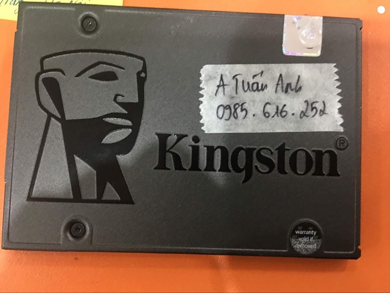 Phục hồi dữ liệu ổ cứng SSD Kingston 240GB không nhận 06/11/2020 - cuumaytinh