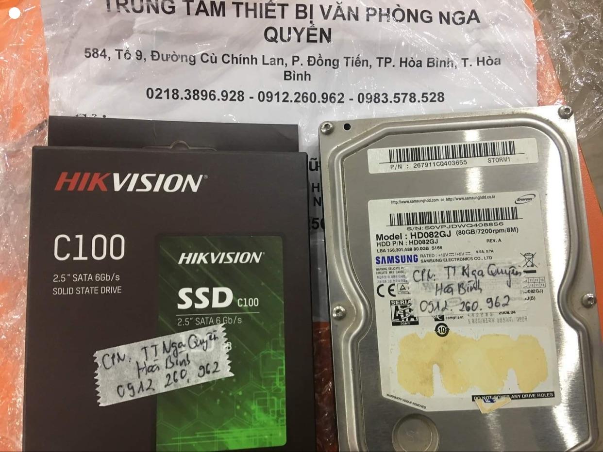 Phục hồi dữ liệu ổ cứng Samsung 80GB bad tại Hòa Bình - 09/12/2020 - cuumaytinh